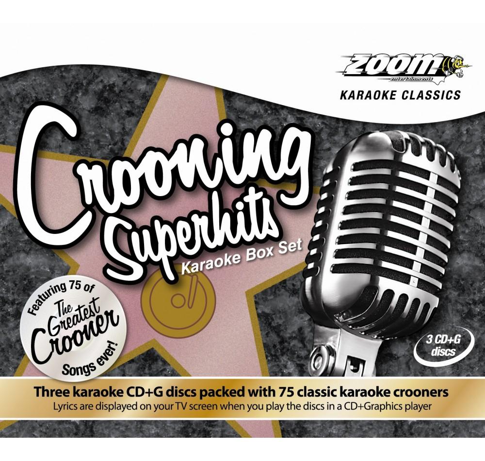 Zoom Karaoke Classics Crooners Superhits 3 Disc Karaoke CDG Set