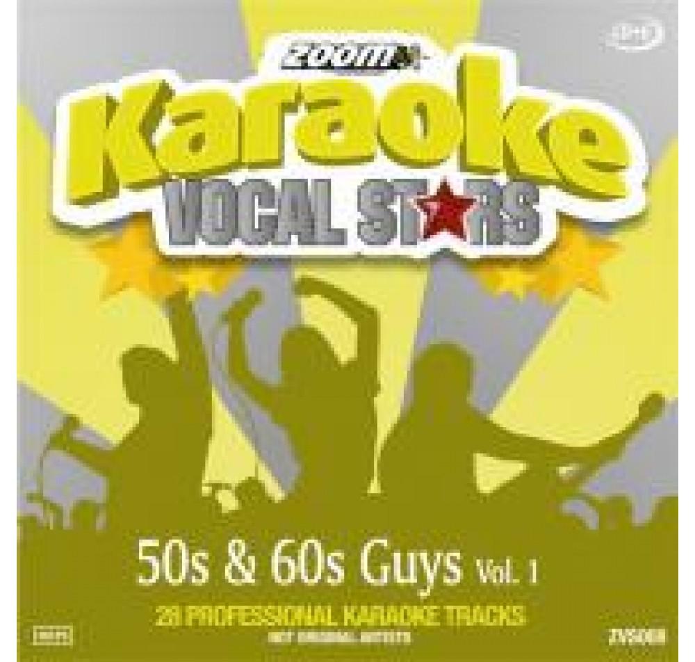Zoom Karaoke Vocal Stars 08 50's & 60's Guys 1 CDG Disc