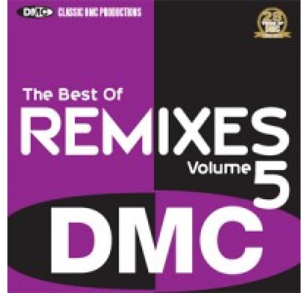 DMC Best Of Remixes Vol 5 DJ Only Compilation CD