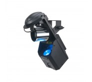 Inno Pocket Fusion 12W LED barrel mirror scanner with 4.9mW green laser LED Effects