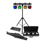Chauvet COREbar 4 Complete Colour Wash Lighting Rig LED Effects