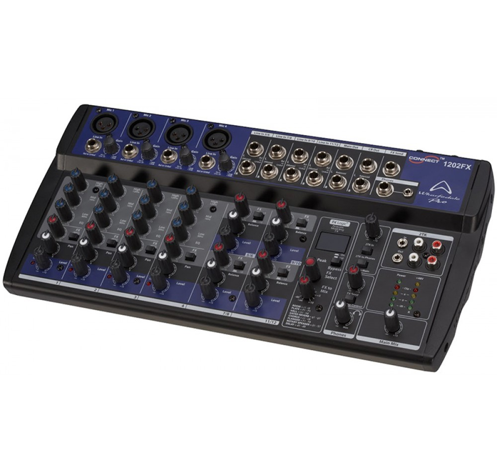 wharfedale pro connect 1202 fx usb mixer. Black Bedroom Furniture Sets. Home Design Ideas