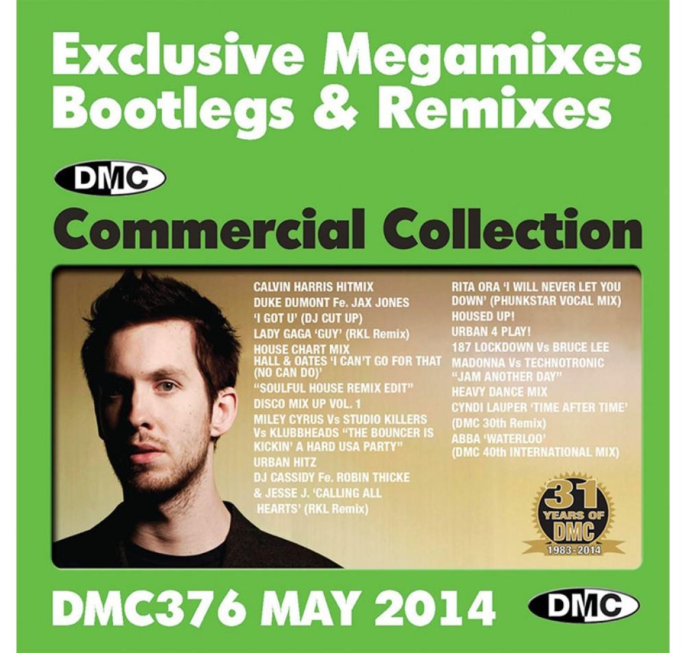 DMC Commercial Collection 374 Exclusive Megamixes Bootlegs Remixes DJ Only  2 CD