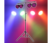 Equinox EQLED15A Party Par Pack Lighting Package inc Stand