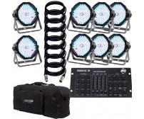 ADJ Mega PAR Profile Plus RGB4C Package
