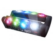 Pack of Two Kam Powerglide Multi-Beam LED Effect Light