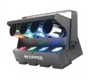 American DJ Zipper 4 Way DMX Barrel Scanner LED Effects