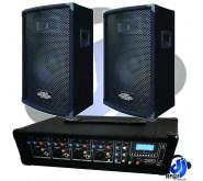 Kam Powerhead and ZP12 Speaker PA Package